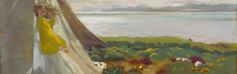 Coffee Lecture - Breezy Day Howth (1909) by William Orpen