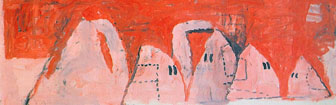 Coffee Lecture - Outskirts (1969) by Philip Guston