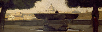 Coffee Lecture: Rome from the Pincio (c1826-27) by Jean-Baptist-Camille Corot