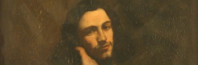 Coffee Conversation: Self Portrait by Gustave Courbet