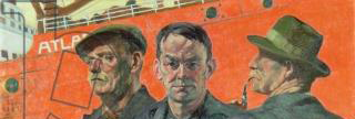 Coffee Lecture - Dockers(c.1933-34) by Maurice McGonigal