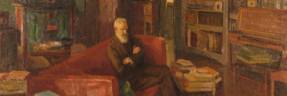 Coffee Conversation: 'George Bernard Shaw at Adelphi Terrace' by Sir John Lavery