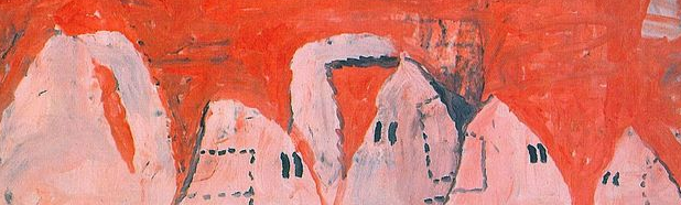 Coffee Conversation: Outskirts by Philip Guston