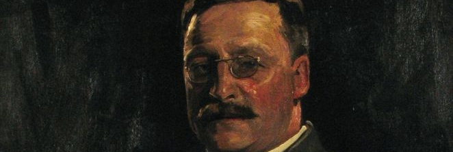 Coffee Conversation: Portrait of Arthur Griffith by Sir John Lavery