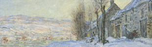 Coffee Lecture: Lavacourt under Snow (c.1878-79) by Claude Monet