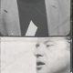 Passport photographs of Francis Bacon,