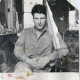 Lucian Freud, circa 1960s. Photograph by John Deakin. Collection Hugh Lane Gallery © The Estate of Francis Bacon