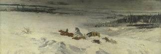 Coffee Conversations: Courbet's Diligence in the Snow