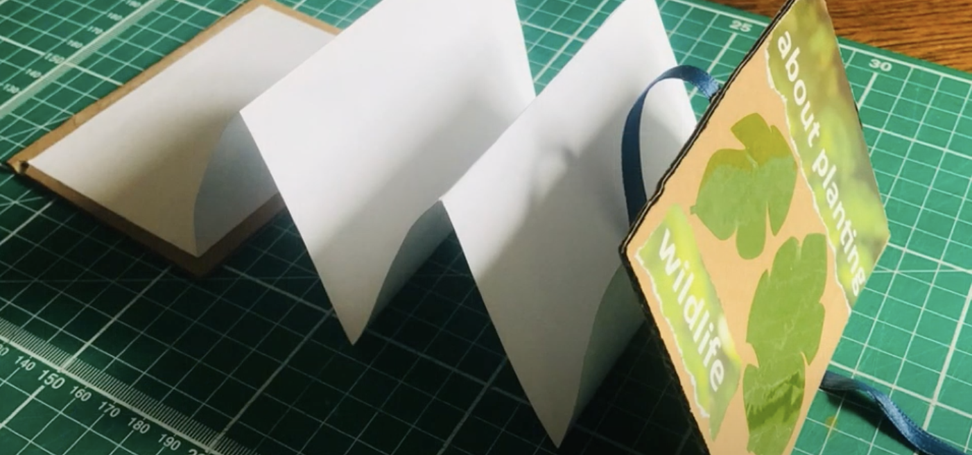 Make Your Own Concertina Style Sketchbook