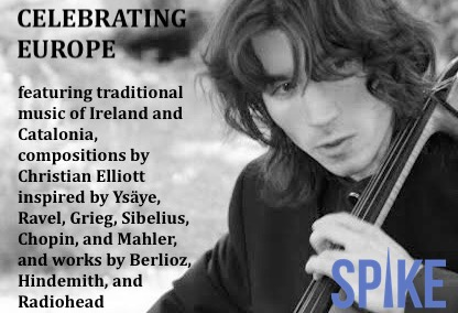 Sundays@Noon: Spike Cello Festival- Christian Elliott